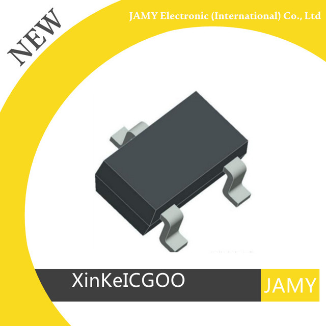 기존 100 개/몫 bc807 5d * 5dw 5dt sot 23 pnp 범용 트랜지스터