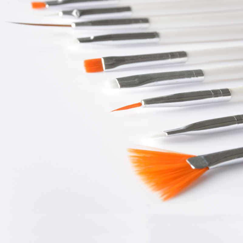 נייל אמנות מברשת סט, 15 יח'\סט מקצועי אקריליק נייל ציור ציור Brushe עט, UV ג 'ל פולני נועד להגדיר ערכה