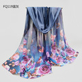 Winter Scarf Bufandas shawl hijab Fashion All-match Scarves women Chiffon Scarf Sunscreen cachecol Shawl and wrap bandana sjaal