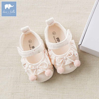 DB8457 Dave Bella baby girls soft first walkers baby cute brand shoes