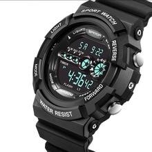 Student Watch Outdoor Sports Waterproof Watch Multi-function Male Watch Diving Watch