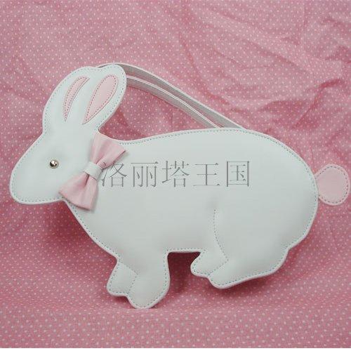 Princess sweet lolita bags messenger bag cosplay bag young girls gentlewoman cute white rabbit loris004