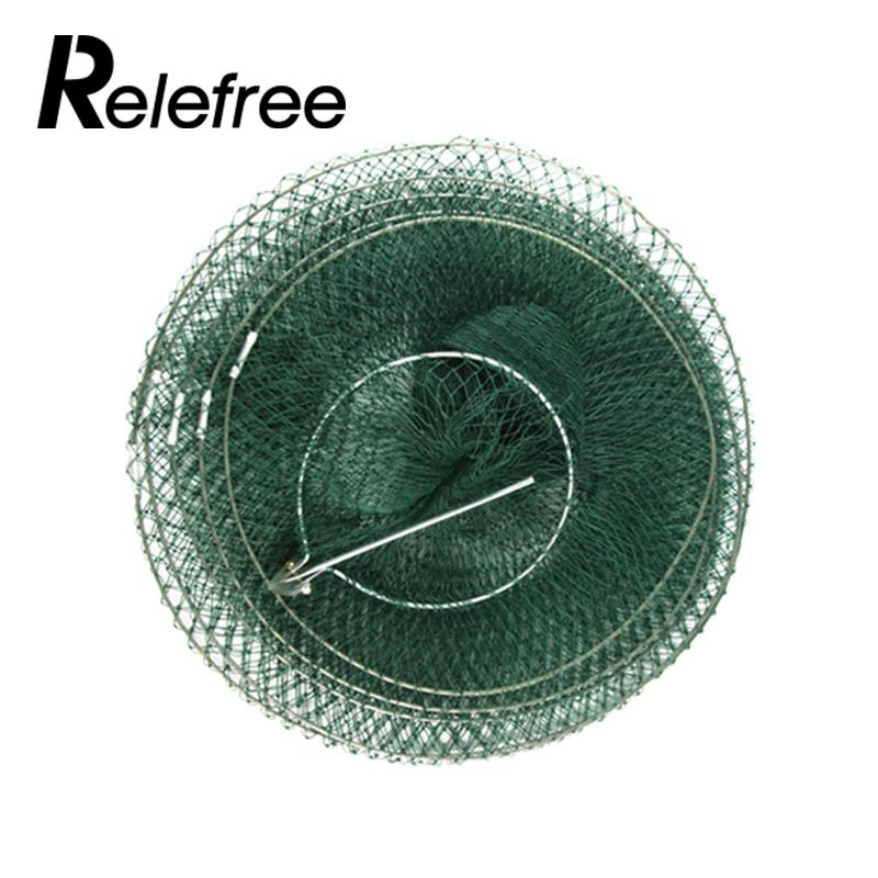Steel Wire Folding Fishnet Shrimp Cage Waterproof Quick Dry Durable Folding Fish Care Fish Line Fishing Net Practical