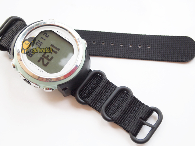 For Suunto D4 D4i  Dive Computer  Watch Nylon Strap +ABS Adapters+Screwbars
