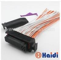 Free Shipping 1set Auto 81pin Ecu Connector 368376 1 Electrical ECU Plug 1J0906385C 1J0 906 385C