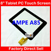 8 Inch Capacitive Touch Screen Digitizer Glass Replacement For AMPE A85 SANEI N83 TPC0156 Free Shipping