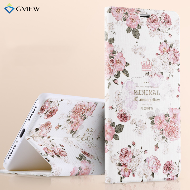 3D Relief Painting Luxury Flip Leather Case For Xiaomi Redmi Note 4 Note 4 Pro With