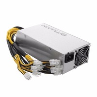 1600W Bitmain APW3 PSU Mining Machine Power Supply Built In Cooling Fan For Antminer Bitcoin Miners