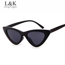 Long Keeper 2018 Fashion Cat Eye Sunglasses For Women Sexy Sun Glasses Male Female Triangle Small Ladies Star Style Eyewears