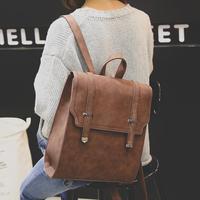 Fashion Women Backpack 2018 New PU Leather Women Backpack Designers Brand for Teenage Girl High Quality Travel Books Rucksack
