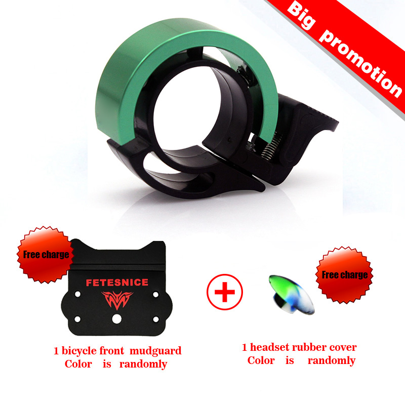 TWOOC Patented product bicycle ring Invisible bike bells CNC Aluminum Alloy Metal Environmental 22.2-24mm bicycle bell whc 04 cnc bike bicycle 6061t6 aluminum alloy headset washer black 4pcs