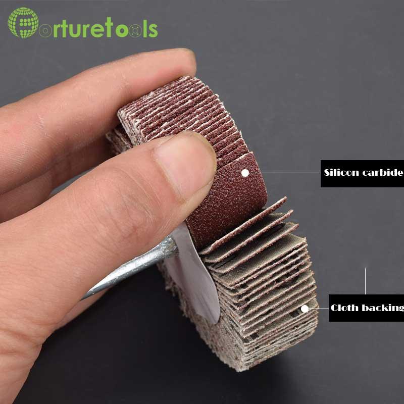 10 tk klapiga monteeritud rattapesa metalli poleerimispea - Abrasiivtööriistad - Foto 6