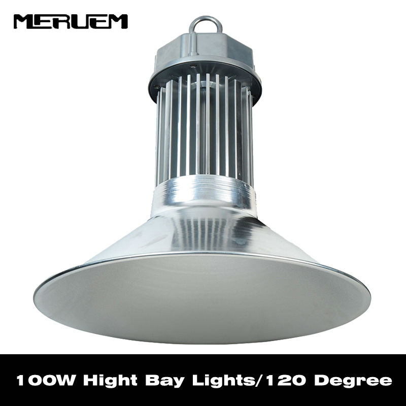 wholesale 100w Led high bay light high quality warranty 3 years LED Bulb Luminous 100-120LM/W industrial workshop fresh market high quality high power cob led industrial light led high bay light 100w used for sports centres