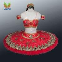 Для женщин балетное платье профессиональная балетная пачка юбка Танцы одежда для балерина для девочек danse костюм