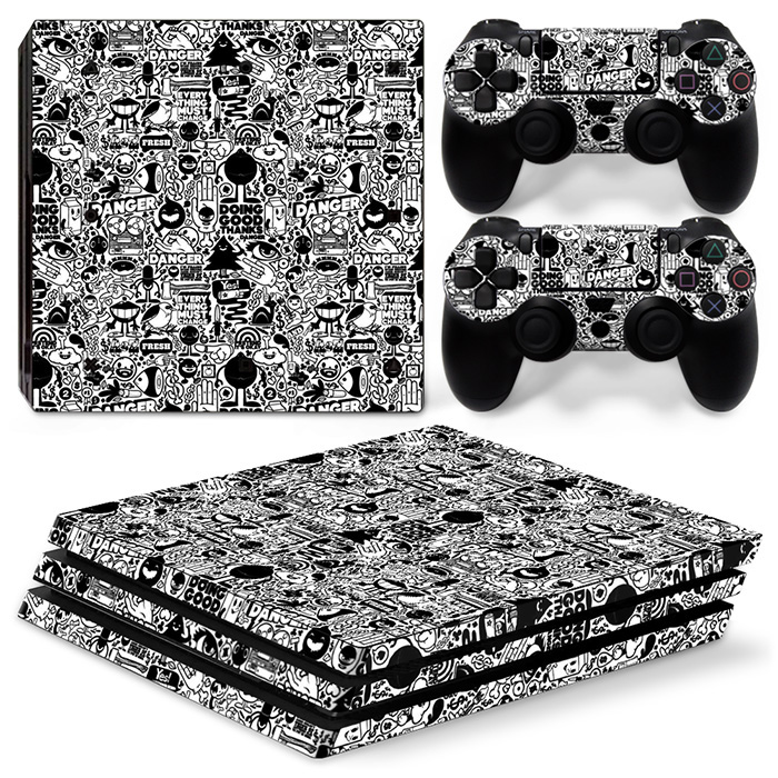 Hot Selling Custom Games Decal Sticker for Sony PS4 Pro