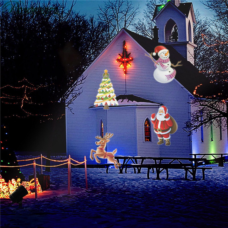 Christmas Light Projectors - Christmas Cards