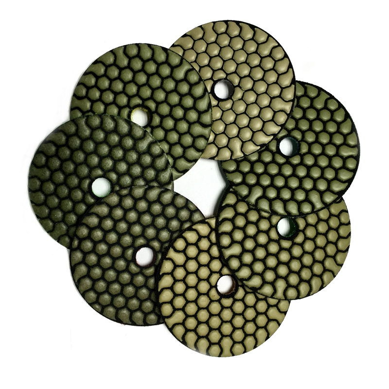 RIJILEI 7 pezzi / lottp 4 pollici / 100mm Pastiglie per lucidatura a - Utensili elettrici - Fotografia 5