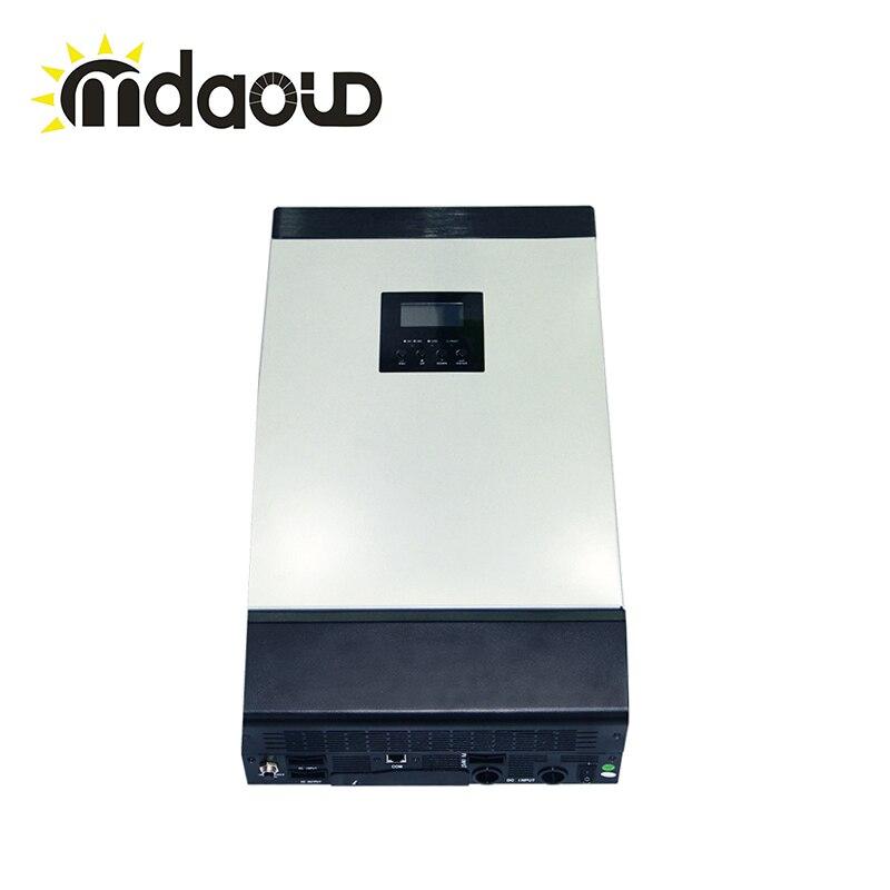 8KVA DC 48 В к AC 220 В/230 параллельно солнечный инвертор/преобразователь MPPT 60A солнечное зарядное устройство