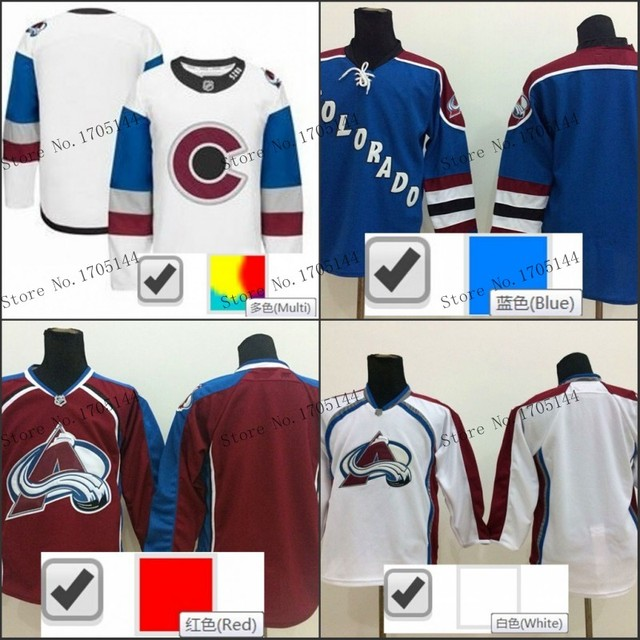 Wholeslae Cheap Wholesale Blank Colorado Avalanche Jersey Color Red White  2016 Stadium Series Hockey Jerseys Best Stitched 688c9731632