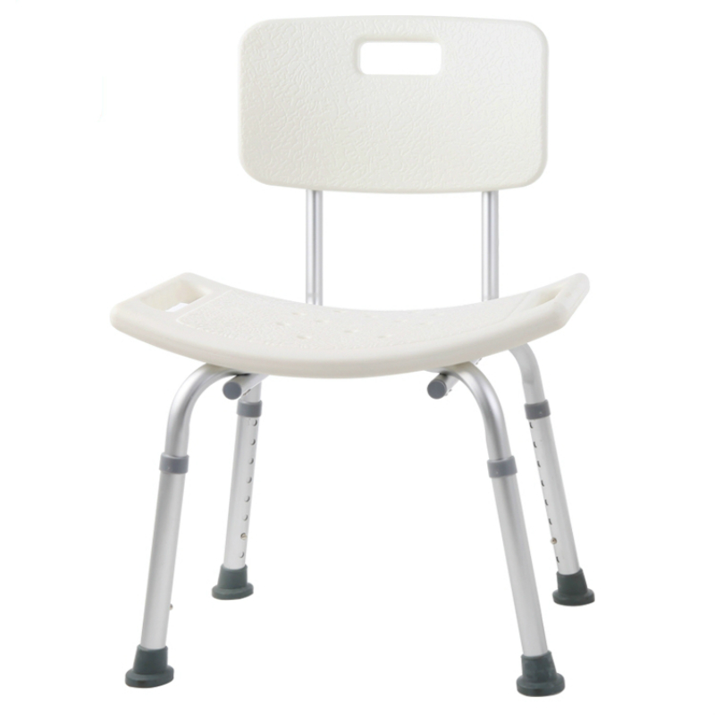 Bath Chair Elderly Pregnant Women Bathing Anti-skid Stool Adjustable Bathroom Anti-skid Stool Pregnant Woman Bathing Chair bathroom folding seat shower stool shower wall chair stool old people anti skid toilet stool bath wall chair