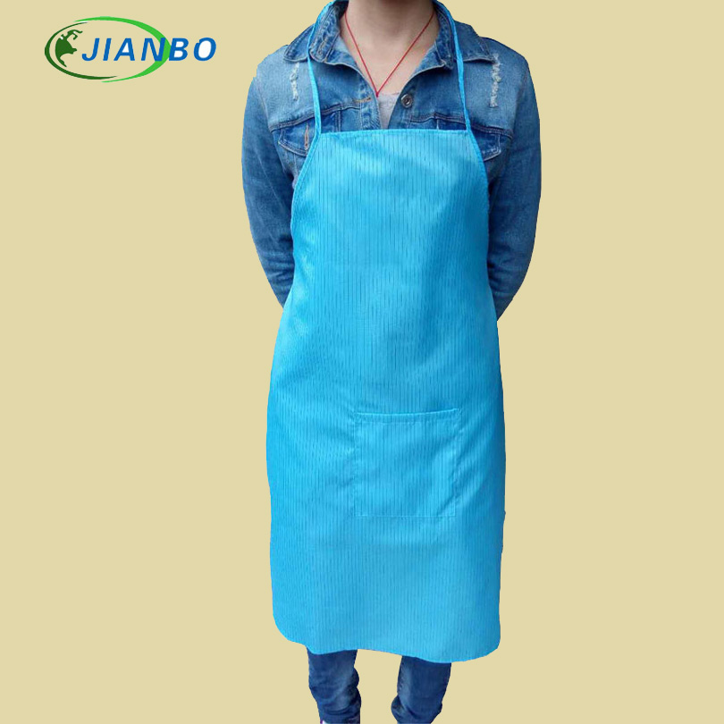 The Anti-Electrostatic Apron Blue Dust Palliative Apron Takes A White Clean Food Of Dou To Have No Dust Work Apron Can Water assorted childs apron  case of 432