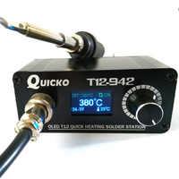 T12-942 Station de soudure numérique électrique fer à souder soudage OLED Station de soudure DC24V adaptateur équipement de soudage outils