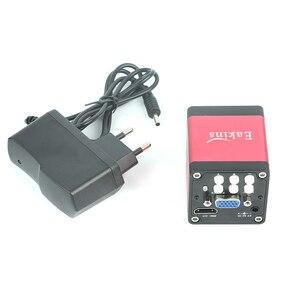 Image 5 - Industria 7X 45X Simul focale Trinoculare Stereo Microscopio VGA HDMI Video Della Macchina Fotografica 720 p 13MP Per Il Telefono PCB Saldatura di Riparazione lab