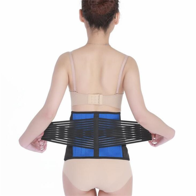 Women Back Support Belt Elastic Back Belt Men Posture Back Brace Support Lumbar Brace Waist Corset Large Size XXXL XXXXL Y010