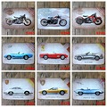 20X30 cm/ world famous sports car motor HARLEY antique retro metal tin sign Iron painting craft vintage home wall decoration