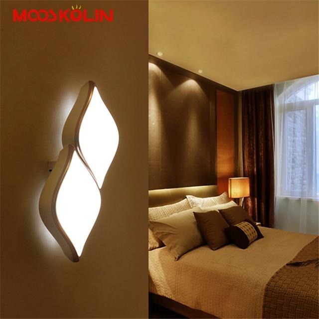 7 Watt/14 Watt Neue Moderne Einfache Kreative Wandleuchte Led Schlafzimmer  Nachttischdekoration Nordic Designer Wohnzimmer