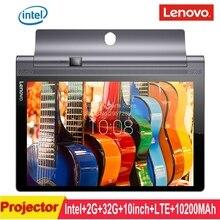 Venta caliente Original de Lenovo tab 3 Pro YT3 X90L yoga 10.0 pulgadas Intel Atom 2G 32G Android 5.0 4G LTE Tablet PC de proyección 10200 mAh