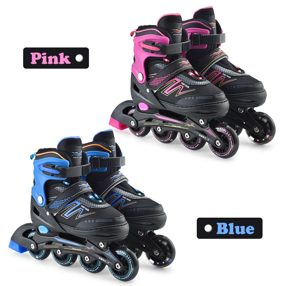 Adjustable Inline Speed Skates Shoes Hockey Roller Skates Sneakers Rollers Women Men Roller Skates For Adults Skates Inline