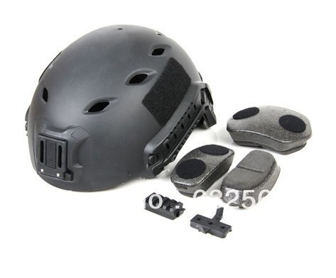 Tactical Paintball Airsoft War Game Fast Style Base Jump Safety Helmet