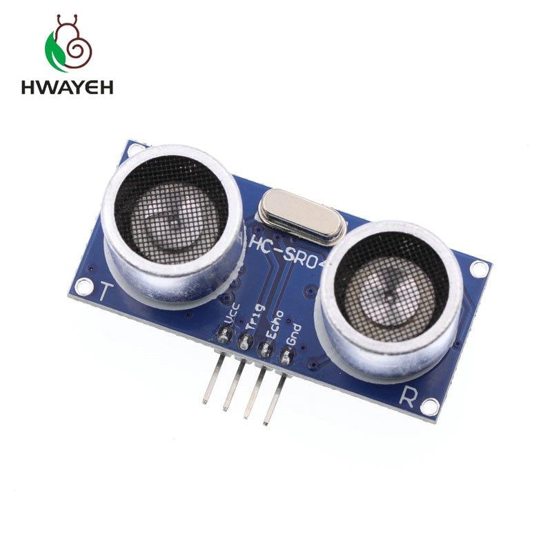5 pz Modulo Ad Ultrasuoni HC-SR04 Distanza di Misura del Trasduttore Sensore HC SR04 HCSR04 trasduttore ad ultrasuoni sensore ad ultrasuoni