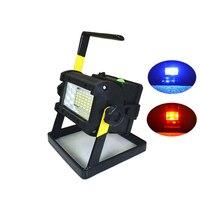 36 led Outdoor Camping Work Light Rechargeable Outdoor Portable Light LED Work Lampe 2400 Lumen Lanterna Search Light Spotlight