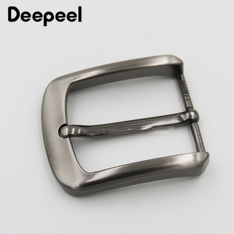 Deepeel 40mm Alloy Belt Buckle Metal Pin Buckle DIY Men's Belt Jeans Clothing Accessories Leather Craft Materials BD379