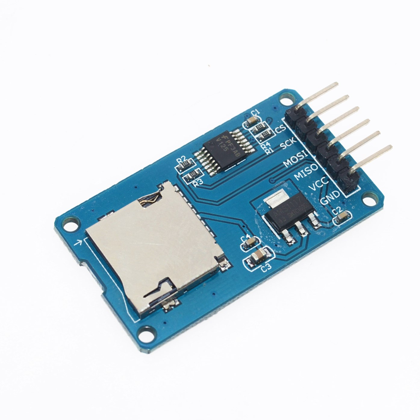 1 шт. Micro SD для хранения Плата расширения micro sd карты памяти TF щит модуль SPI для Arduino поощрении
