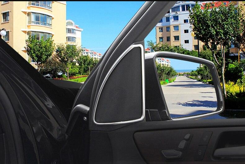 Pour Mercedes Benz ML350 2012 W166 GLE GL320 350 GLS porte intérieure stéréo haut-parleur couverture autocollant garniture accessoires