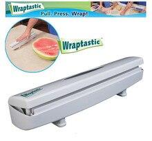 Wraptastic Dispenser Kunststoff wrap Konservierungsmittel film Cutter Cutting Folie oder Frischhaltefolie küche zubehör AY279-SZ +
