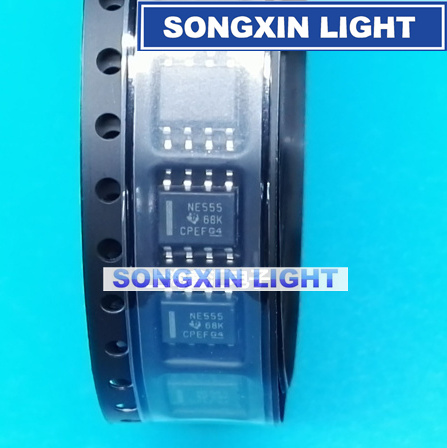 100pcs NE555DR NE555D NE555 IC 555 SMD SOP-8