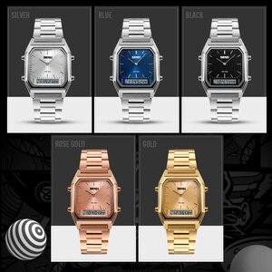 Image 5 - แฟชั่น Casual นาฬิกาควอตซ์นาฬิกาข้อมือกีฬานาฬิกา Chronograph กันน้ำ Relogios Femininos Marcas Famosas นาฬิกาหญิง