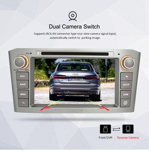 Image 5 - 4G RAM 7 Android 9.0 Car DVD GPS Navigation Video Player For Toyota Avensis/T25 2003 2008 2 Din Car PC Head Stereo Multimedia
