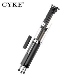 Image 5 - CYKE MINI Handheld Wireless Bluetooth Selfie Stick 3 in 1 รีโมทคอนโทรลชัตเตอร์ Selfie Stick อิสระขาตั้งกล้อง Telescopic Rod