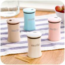 Toothpick Holder Kitchen Tool Seasoning Pot Pocket Fashion Small Portable Creative Toothpick Box(China)