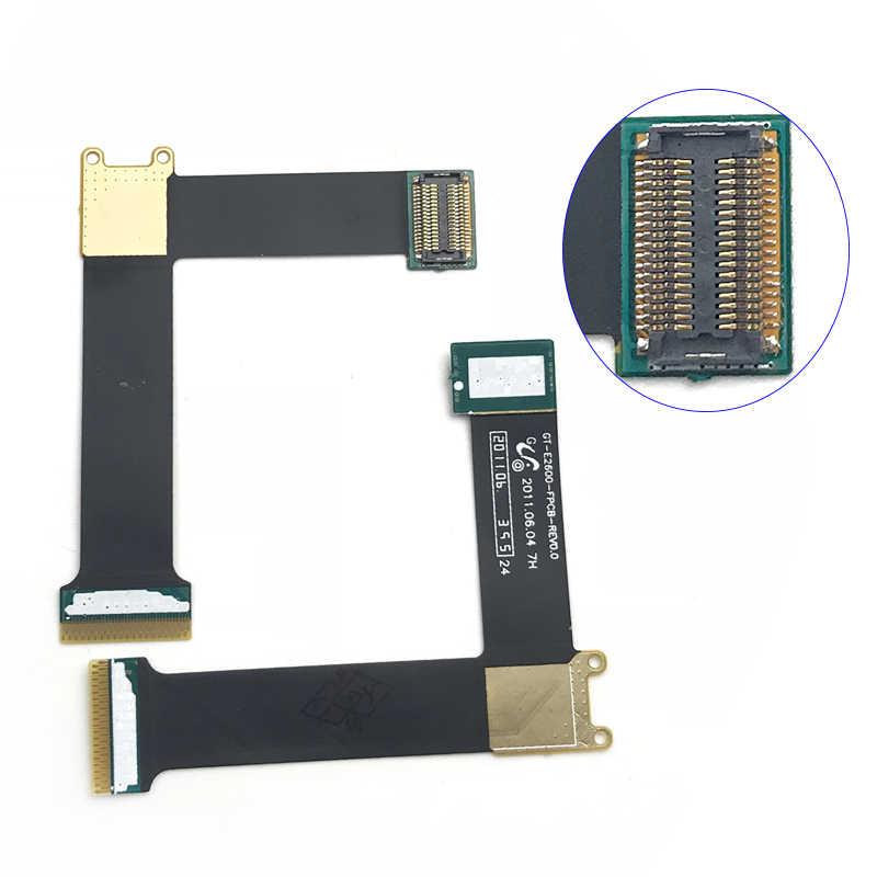 Mới Replacment Một Phần Tương Thích Cho Samsung E2600 GT-E2600 Màn Hình Hiển Thị LCD Connecter Cáp Mềm Nơ Sửa Chữa Một Phần