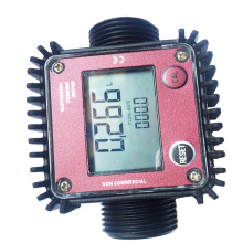 Plastic Interface 1 inch digital turbine flowmeter liquid flow meter  electronic metering methanol water diesel kerosene цены онлайн