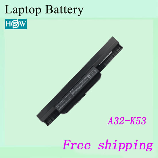 6CELLS A32-K53 A42-K53 K53 battery For ASUS A53B A53BY A53E A53F A53J ASUS A53JA A53S A53U Laptop battery