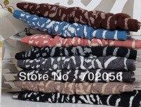 Womns Zebra Print Leg Warmers LEG Boot CORVER Sexy Socks 20 pairs/lot #2461