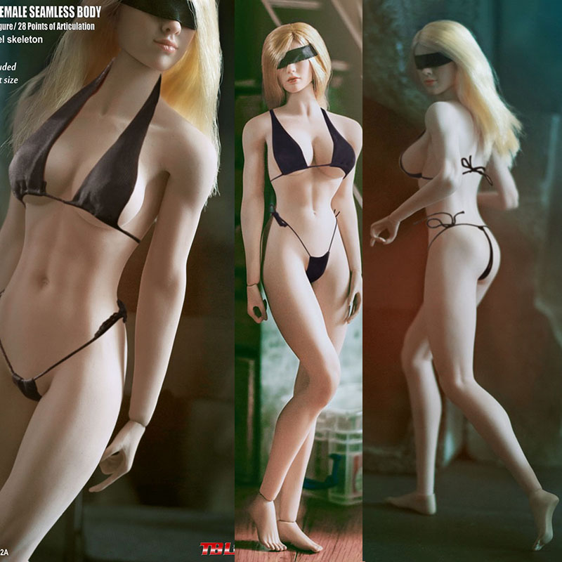 S07C S09C S18A S19B S20A S21B S22A S23B 1/6 TBLeague Ph Seamless Mid/Large Breast Bust Female Body For 1/6 Head Figure Set
