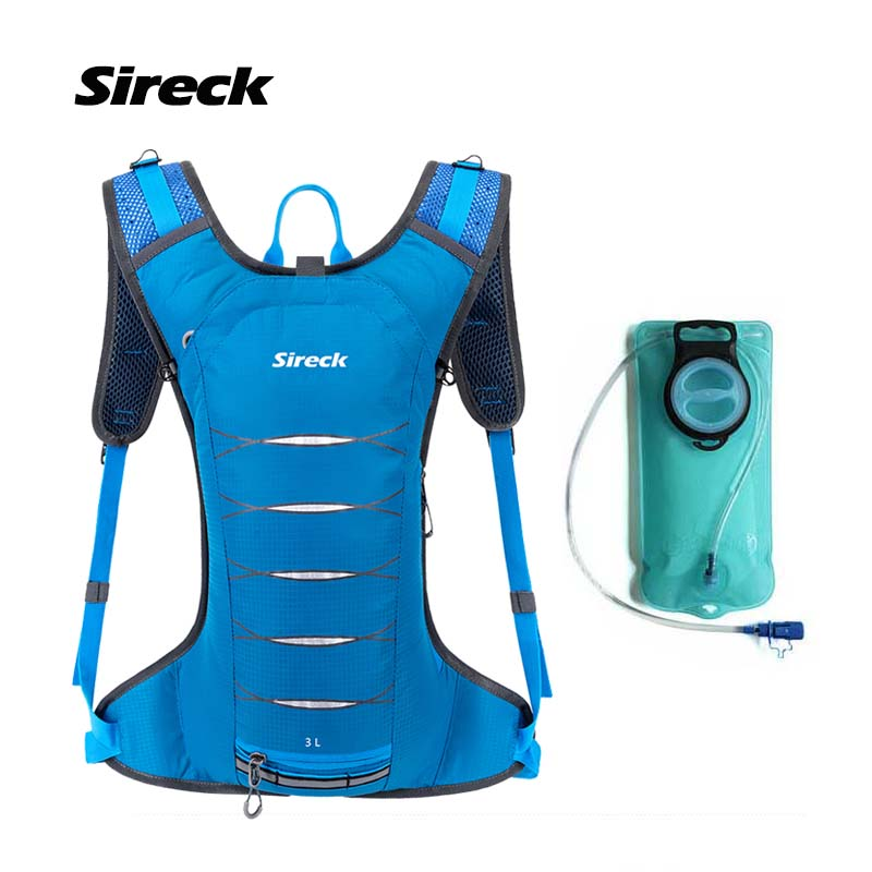 Sireck Running Bag Outdoor Sport Jogging Water Waterproof Nylon Fitness Cycling Hydration Backpack Vest Pack Run Accessories